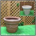 ロングセラー クラシックデザイン ガーランドポット  セラルンガ 普遍人気 ガーデンプランター 樹脂製植木鉢