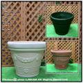 ガロングセラー ーランドポット  セラルンガ 普遍人気 ガーデンプランター 樹脂製植木鉢 クラシックデザイン