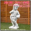 指揮 石造 花鉢 楽器シリーズ 子供像 イタリア 洋風ガーデン 石像 子供の楽団