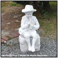羊飼いの少年 子供彫像 ガーデンオブジェ イタリア石像 洋風ガーデン 彫像