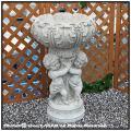 花鉢 ガーデン石像 クラシックデザイン 子供のフラワーポット 人工大理石 デコラティブ 洋風庭園