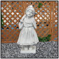 ルクレゼア  子供のオブジェ  ガーデンオーナメント  少女像 子供像
