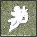 オブジェ 洋風ガーデン オーナメント イタリア石造 レリーフ 天使 エンジェル 石像 一対 壁面装飾 ウォールデコ