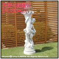 イタリア石像 彫像 洋風ガーデン 天使の庭園灯 エンゼル像 子供像 照明 ガーデン石像 ガーデンオブジェ