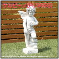 ケルビーノ 石造 エンゼル 可愛い子供 イタリア 洋風ガーデン 石像 オブジェ子供像