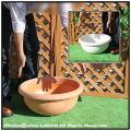 広口平鉢 ポリエステル樹脂製 プエブラ鉢 高級輸入樹脂植木鉢 マルキオーロ社