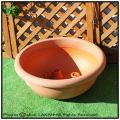 マルキオーロ社 キャスター プエブラ鉢  広口平鉢 ポリエステル樹脂製  デザインもサイズも豊富 高級輸入樹脂植木鉢
