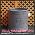 樹脂鉢 輸入鉢 大型 軽量 NEWラウンドボックス シンプル 円筒鉢 R04 ファイバークレー