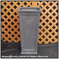 ファイバークレー  縦長型鉢  樹脂鉢 シンプル  R05  軽量 NEWプレーンスクエア  輸入鉢 大型