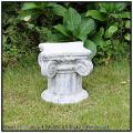 アンティーク仕様  ガーデンオブジェ、、花鉢台座、石造置物、石像コラム