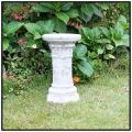 ガーデンオブジェ、ガーデン台座 アンティーク仕様、石造置物、花鉢台座、石像コラム