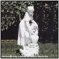 イタリア製 アンフォラの壺と農婦  石像 作業 労働 石造 ガーデン人形 オブジェ