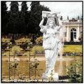 洋風 庭園 カリアティード 彫像 ヴィーナス像 イタルガーデン社 石像 乙女像