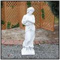 洋風庭園 石造オブジェ ビーナス像 冬の乙女像 イタリア製 大型オブジェ ガーデンモニュメント 季節の乙女像