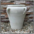 チュニジア 砂漠 古代土器 TU035A Tunisia 四方手付 テラコッタ鉢 異国情緒 壺型 ハンドメイド