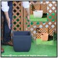 正角型  ポリエステル樹脂製  ベローナ鉢 マルキオーロ社 大型プランター 高級輸入樹脂植木鉢
