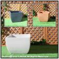 ポリエステル樹脂製 ベローナ鉢  マルキオーロ社 正角型 大型プランター 高級輸入樹脂植木鉢