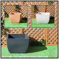 正角型 ポリエステル樹脂製 ベローナ鉢 大型プランター 高級輸入樹脂植木鉢 マルキオーロ社