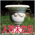 イタルガーデン社 彫像 石造花鉢 人工大理石 0656 イタリア ガーデンオブジェ クラシック庭園  テツィアーノ 洋風ガーデン