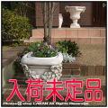 花鉢 VR0692 イタリア クラシック調 ベイオ花鉢 角型 石造 花彫柄
