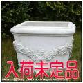 ガーデンオブジェ 彫像 イタルガーデン社 人工大理石 クラシック庭園 洋風ガーデン イタリア VR0695 石造花鉢  ネーミ花鉢