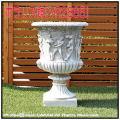 洋風ガーデン プリニオ イタルガーデン社 クラシック庭園 人工大理石 彫像 石造花鉢 ガーデンオブジェ イタリア