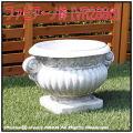 ファビアーノ 人工大理石 ガーデンオブジェ VR2886 イタリア 彫像 石造花鉢 洋風ガーデン