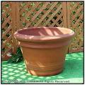 人気無地柄 アンティーク調  ハンドメイド 高級テラコッタ リバティーポット トスカーナ 大型植木鉢  輸入植木鉢