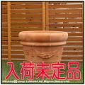 クラシックガーランド 輸入植木鉢 トスカーナ 人気柄 高級テラコッタ ハンドメイド 大型植木鉢