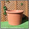 ザラ鉢 高級輸入鉢 ポリエステル樹脂製  キャスター付き 大型コンテナー鉢 デザインもサイズも豊富