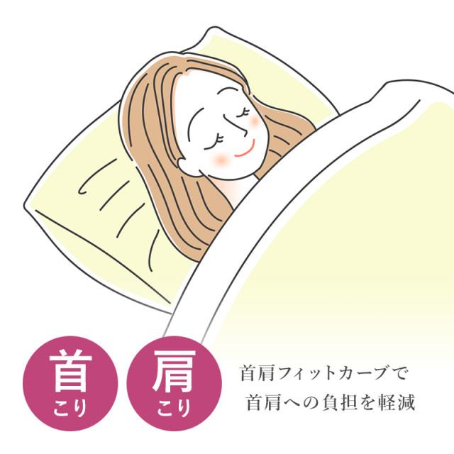 寝返り美人枕