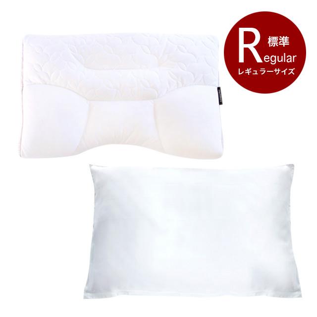 首肩快適枕+シルク