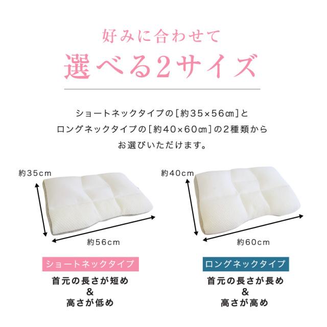 ピタッとフィット枕ロング