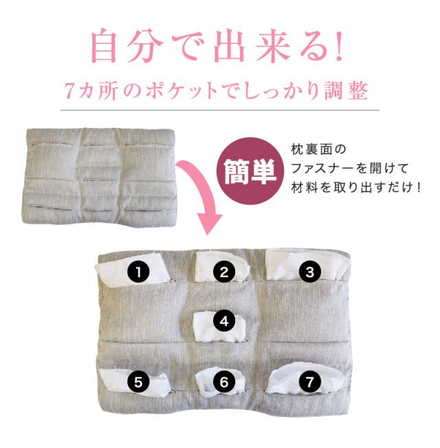 ピタッとフィット枕ショート