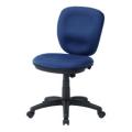 【38%OFF!送料無料!】【OAチェア(ブルー)】大きな座面と背もたれ、ロッキング機能付きミドルバックチェア■SNC-T146BL