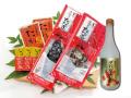 藁焼き鰹たたき2節と栗焼酎『ダバダ火振』セット