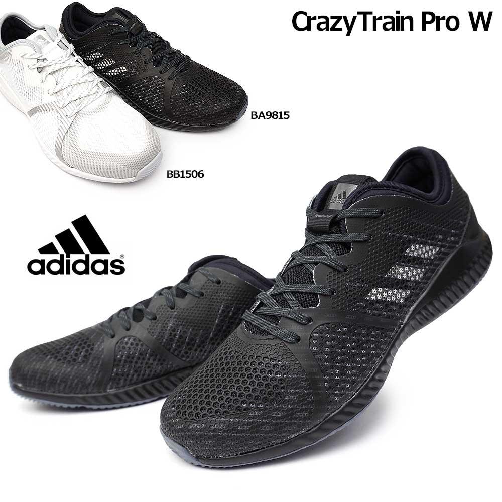 アディダス クレイジートレイン プロ W レディース スニーカー ストレッチ シューズ ローカット ランニング ジム adidas CrazyTrain Pro W BA9815 BB1506
