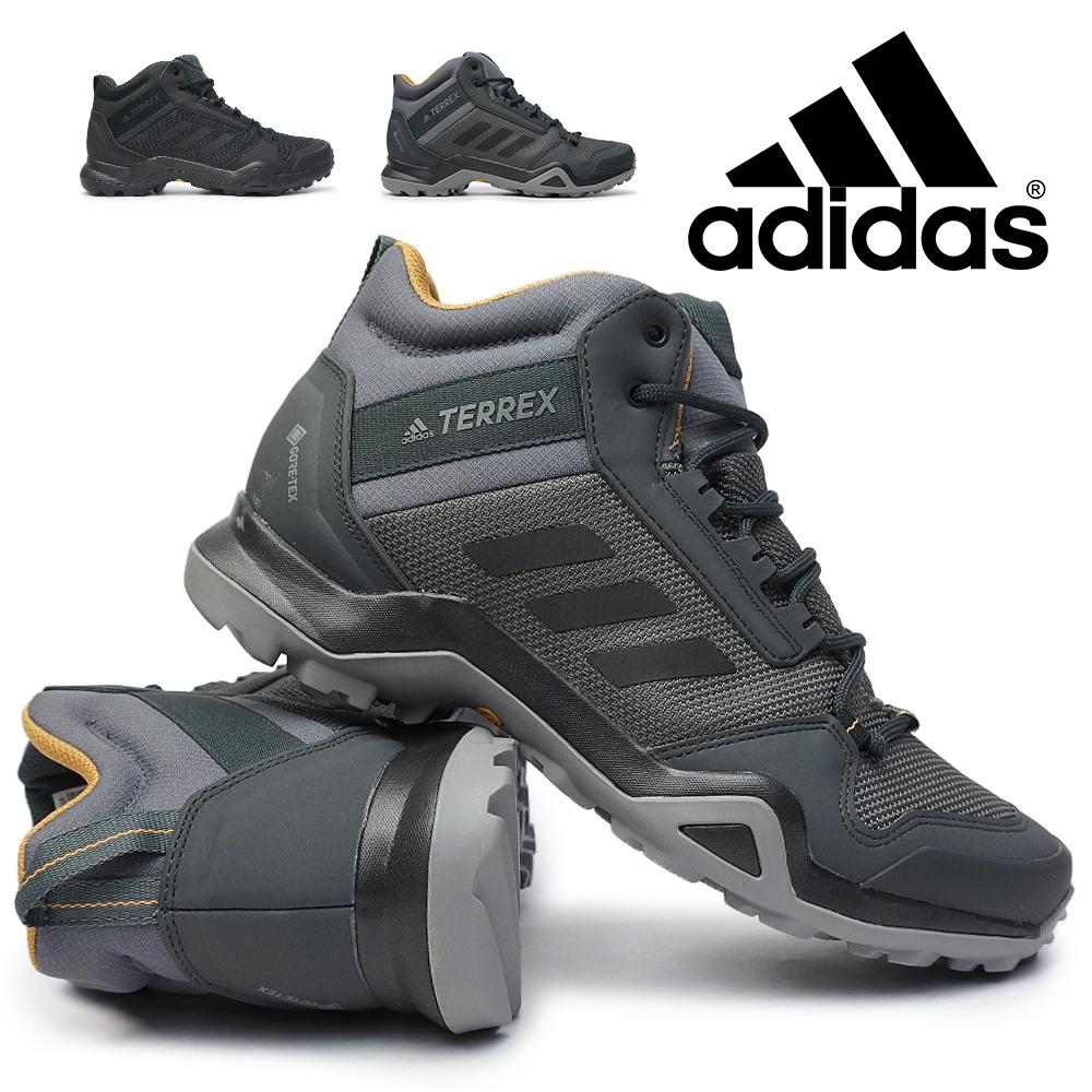 アディダス 防水 トレッキングシューズ テレックス AX3 ミッド GTX メンズ ゴアテックス adidas TX AX3 MID GTX BC0466 BC0468