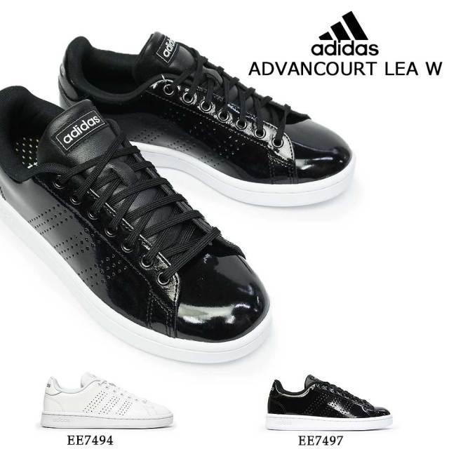 アディダス スニーカー レディース アドバンコート LEA W コートシューズ レザー adidas ADVANCOURT LEA W