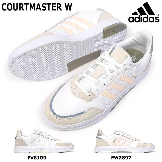 アディダス スニーカー レディース コートマスター W レザー 本革 ウィメンズ テニスシューズ adidas COURTMASTER W