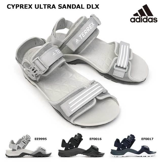 アディダス メンズ サンダル サイプレックス ウルトラ デラックス サンダル アウトドア テレックス ストラップ ハイキング キャンプ 夏 海 BBQ adidas TERREX CYPREX ULTRA DLX SANDALS