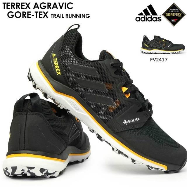 アディダス メンズ スニーカー テレックス アグラヴィック ゴアテックス ランニング トレイル アウトドア 軽量 防水 透湿 adidas TERREX AGRAVIC GORETEX