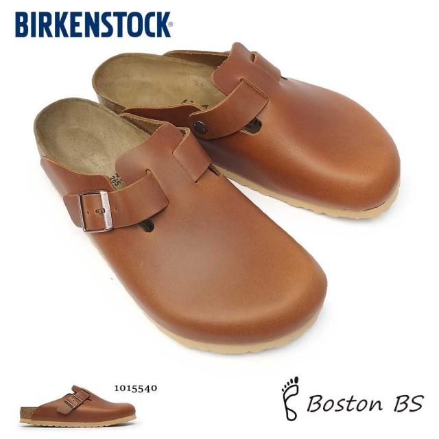 ビルケンシュトック メンズ サンダル ボストン BS コンフォート 定番 クロッグ ナチュラルレザー レギュラーフィット ノーマルウェイト Birkenstock Boston BS