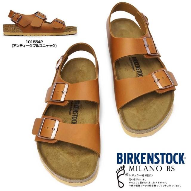 ビルケンシュトック ミラノ BS メンズ サンダル コンフォート 3ストラップ レザー Birkenstock Milano BS