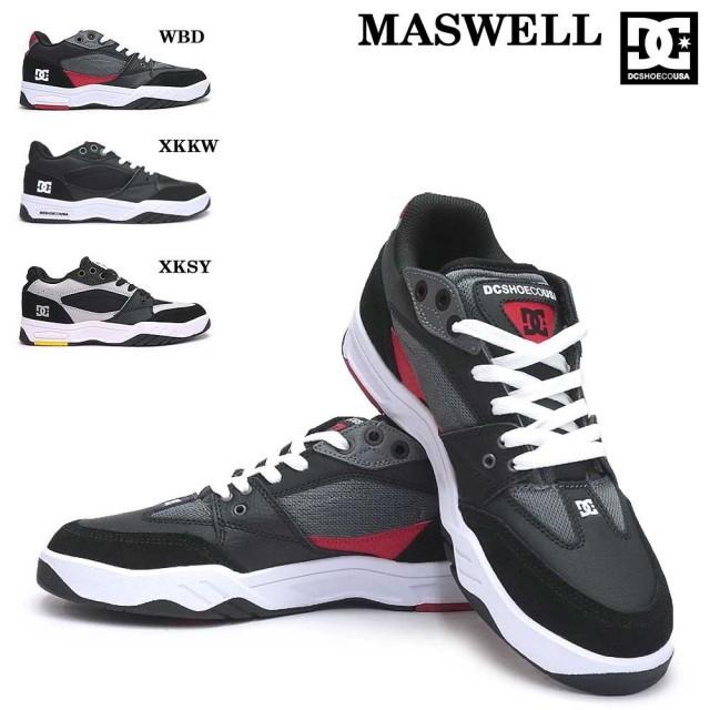 DC スニーカー メンズ MASWELL DM192012 マスウェル スケートボード レザー スケーター DC SHOES MASWELL ADYS100473 DM192012