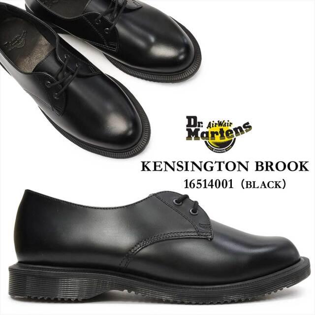 ドクターマーチン BROOK ブルック レディースシューズ 16514001 Dr.MARTENS KENSINGTON BROOK 2EYE SHOE
