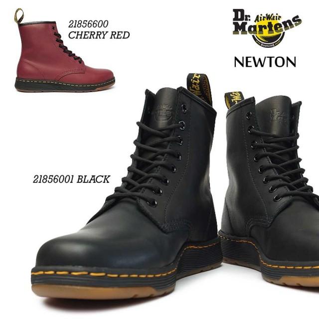 ドクターマーチン ニュートン NEWTON メンズ レディース 軽量 レザーブーツ Dr.MARTENS DM's LITE NEWTON 8 EYE BOOT 21856001 21856600