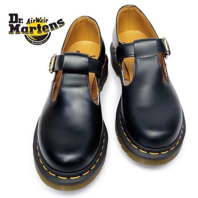 ドクターマーチン 靴 ポリー Tバーシューズ 正規品 レディース POLLEY T-BAR SHOE 14852001 Dr.MARTENS POLLEY T-BAR SHOE