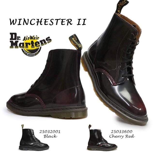 ドクターマーチン メンズ ブーツ WINCHESTER II ウィンチェスター 8ホール レザー ショートブーツ Dr.Martens KENSINGTON WINCHESTER II 8EYE BOOT