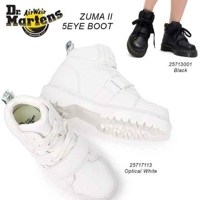 ドクターマーチン ZUMA2 5ホール レディース ショートブーツ バージニアレザー アンクル丈 Dr.Martens CORE BEX ZUMA II 5 EYE BOOT